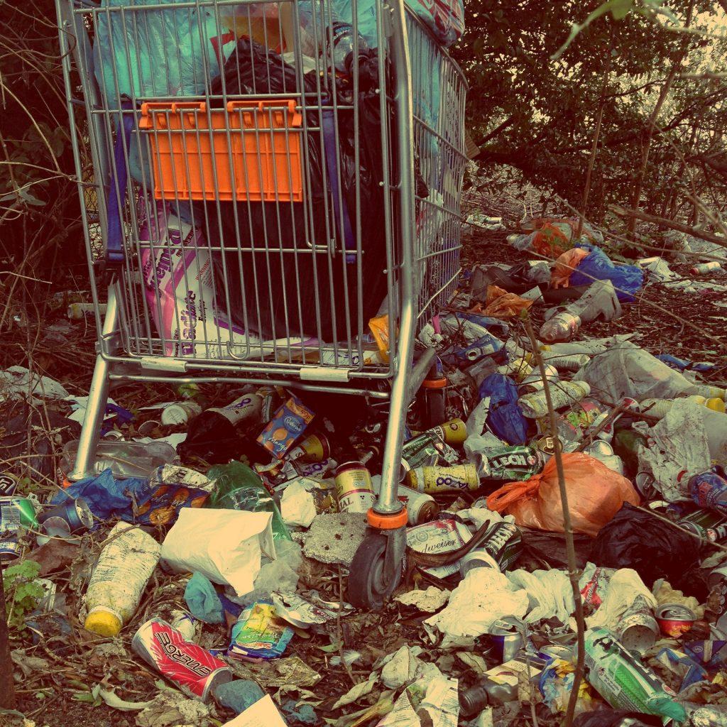 monstermäßig viel Müll