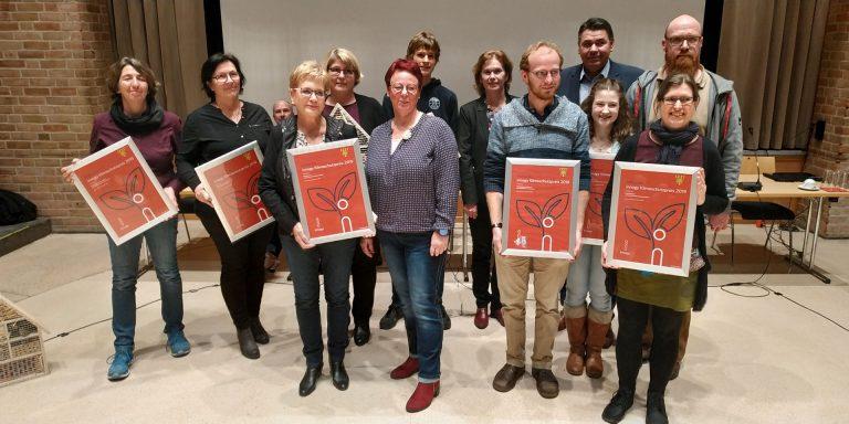 Gewinner des Klimaschutzpreises 2019